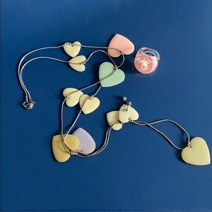 Jewelry - Pretty Girl Whimsy Jewelry Set